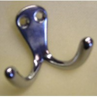 Aluminium Hook Double 43mm