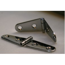 Strap Hinge Stainless Steel 98mm