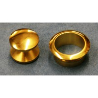 Brass Pushbutton Catch 13mm