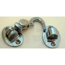 Silent Cabin Hook Chrome 64mm