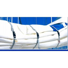 Blue Performance Sail Clips Large