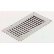 Stainless steel louvred vent 15 louvres