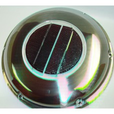 Solar Vents Stainless Finish
