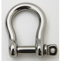 Stainless Steel D Shackle 22mm x 30mm