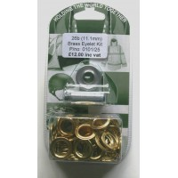 Brass Sail Eyelet Kit 26B