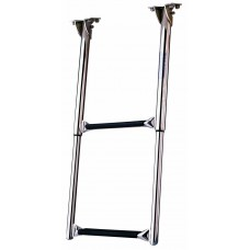 Stainless Steel 2-step flip over boarding ladder