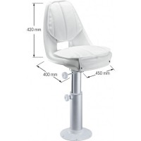 Seat and Pedestal Set