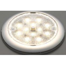 Silver LED slim light 12 leds