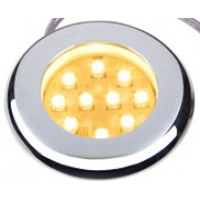 Recessed LED Lamp Chrome Rim