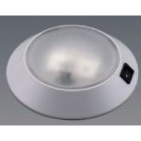 White LED downlighter 15 white/5 red