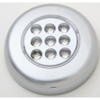 LED Lamp surface mount Silver Finish