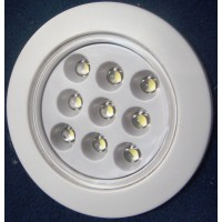 Recessed LED Lamp White