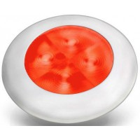 Hella slimline White rim red LED