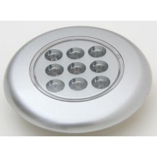 Recessed LED Lamp Silver Finish