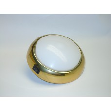 Brass effect  dome lamp 2356