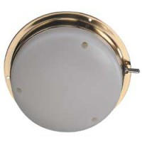 Brass domelight 12volt 2357