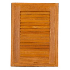 Teak Louvred Door 305mm x 305mm