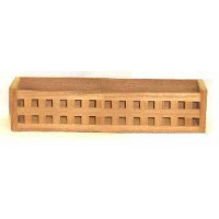Teak Grating Holdall Rack