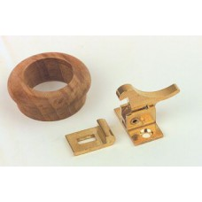 Teak Finger Ring 33mm T104